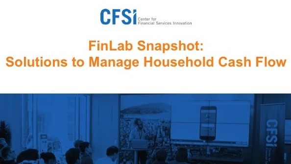 FinLab Snapshot: Solutions to Manage Household Cash Flow